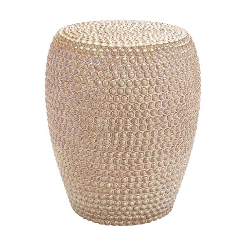 Emeco Decorative Apple Ceramic Stool