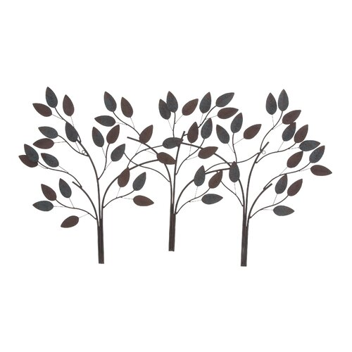 Woodland Imports Leaf Wall Décor