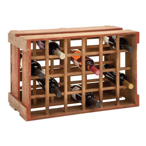24 Bottle Tabletop Wine Holder