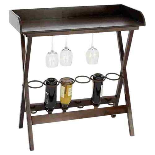 Woodland Imports 6 bottle Wine Rack