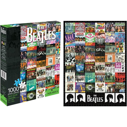 Beatles Singles 1000 Piece Jigsaw Puzzle