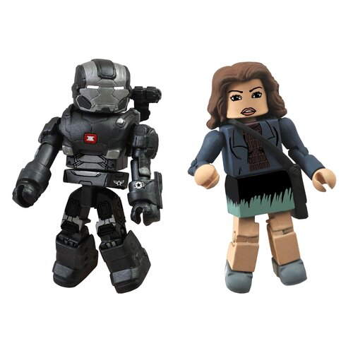 Diamond Selects Marvel Minimates Series 49: War Machine and Maya Hansen