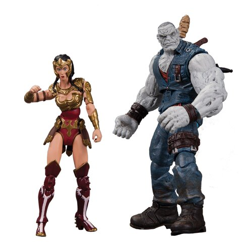 Diamond Selects DC Comics Injustice: Gods Among Us Wonder Woman vs Solomon Grundy Action Figure