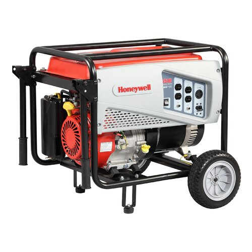 Portable 5,500 Watt Gasoline Generator
