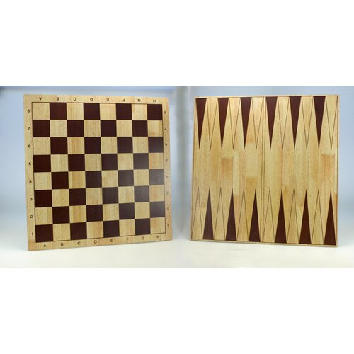 Sunnywood Wooden Double Sided Chess Board