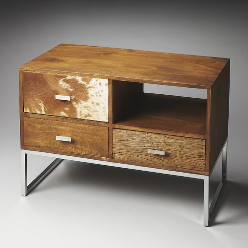 Loft Fullerton Modern 3 Drawer Chest