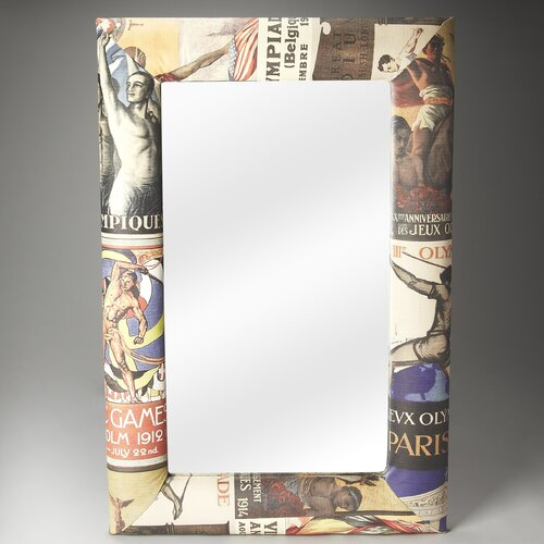 Artifacts Olympus Upholstered Wall Mirror