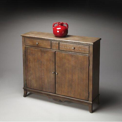 Butler Masterpiece 2 Drawer Console Cabinet