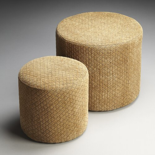Loft Nesting Ottomans (Set of 2)