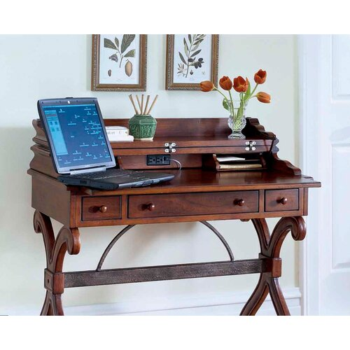 Butler Plantation Cherry Writing Desk with Convertible Top