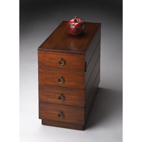 Butler Connoisseur's Chairside 4 Drawer Chest