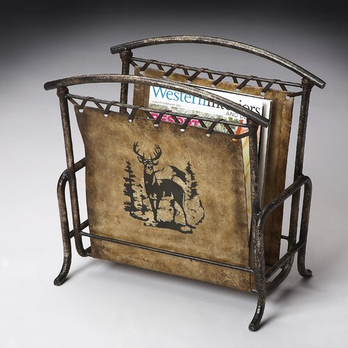 Mountain Lodge Magazine Rack
