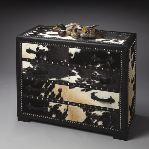 Butler Modern Expressions Cowhide 4 Drawer Chest