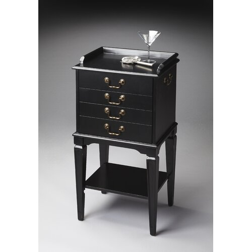 Butler Masterpiece Silver 4 Drawer Chest