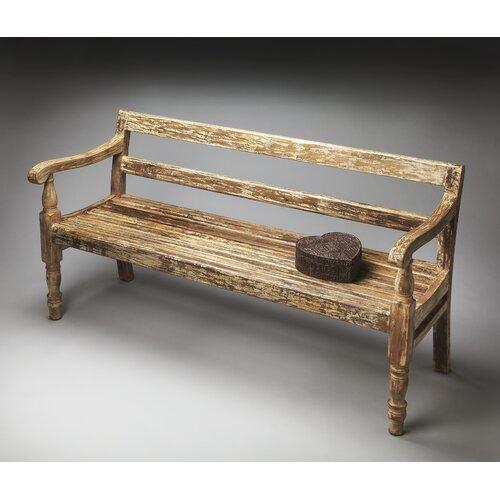 Sale alerts for Butler  Heritage Wood Garden Bench  - Covvet