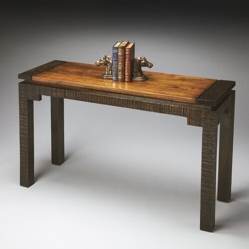 Mountain Lodge Rustic Console Table