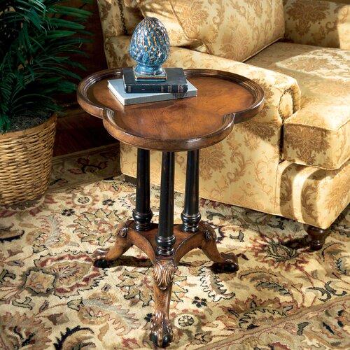 Connoisseur's Clover Leaf End Table