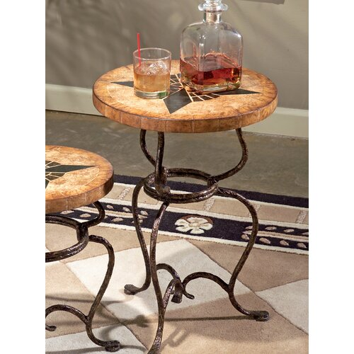 Metalworks Large End Table