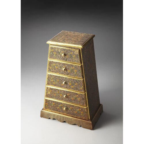 Artifacts Meena Brass Accent Chest