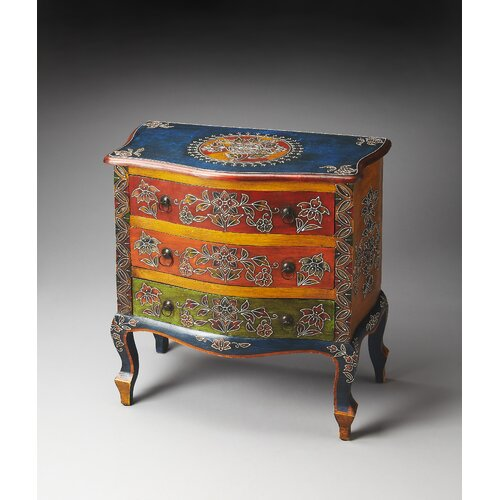 Artifacts Farhana Hand Painted Accent Chest