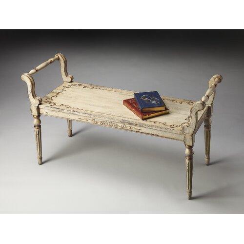 Artists' Originals Solid Hardwood Bedroom Bench