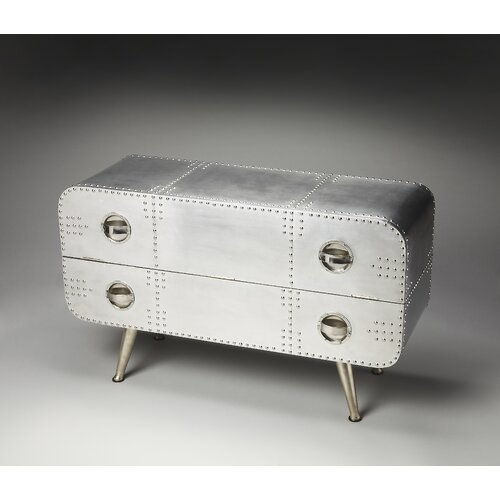 Butler Metalworks Midway Aviator Console Chest