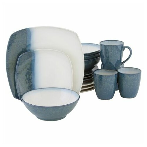 Sango Metallics 16 Piece Dinnerware Set