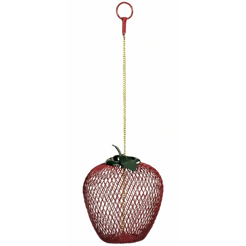 Apple Decorative Bird Feeder