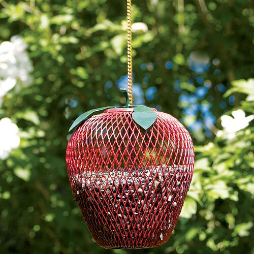 ACHLA Apple Decorative Bird Feeder