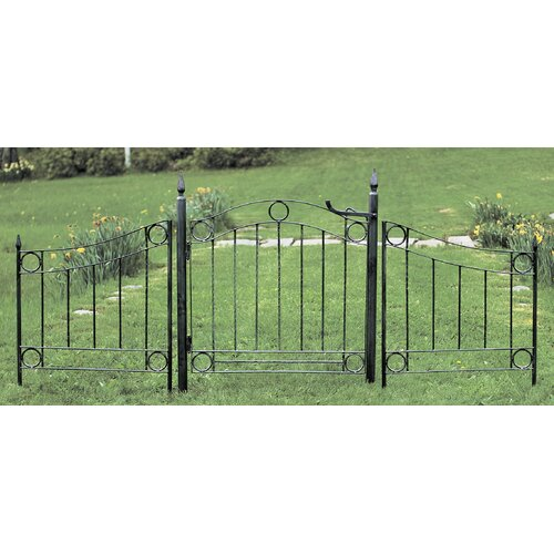 ACHLA Country Cottage Wrought Iron Garden Gate
