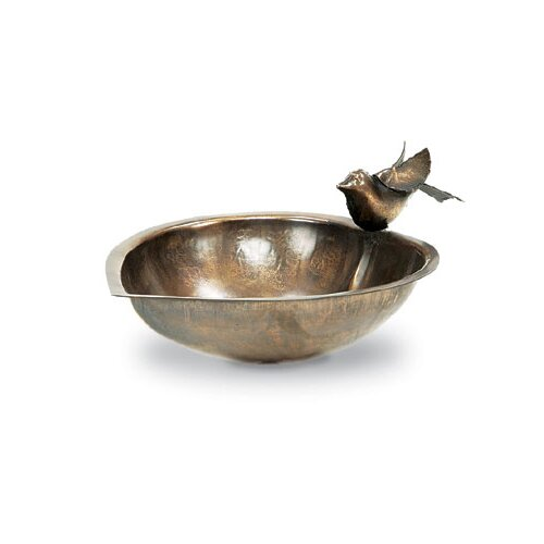 ACHLA Heart Shaped Birdbath and Feeder