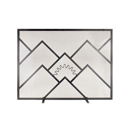 Sunrise Fireplace Screen