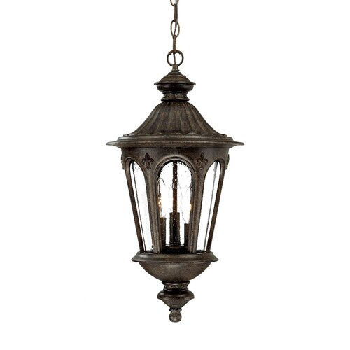 Acclaim Lighting Marietta 3 Light Outdoor Hanging Lantern