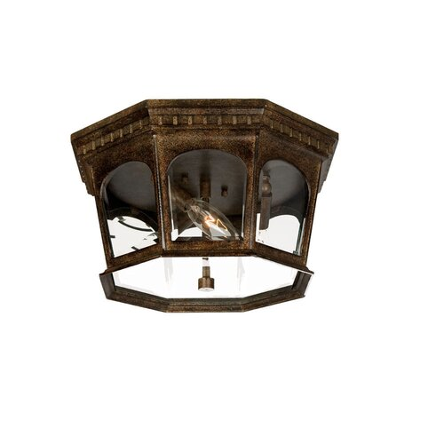 Acclaim Lighting Newcastle 3 Light Flush Mount