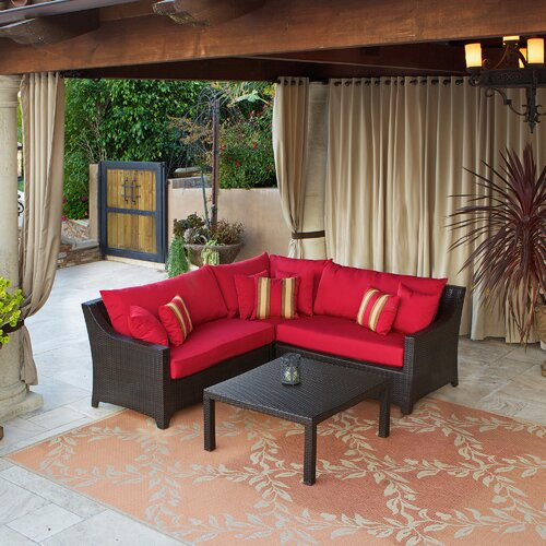 RST Outdoor Cantina Sectional Sofa Set