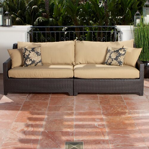 RST Outdoor Delano Sofa with Cushions