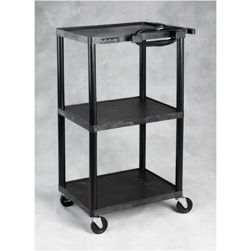 Hamilton Electronics Multi-Purpose Height Adjustable AV Cart