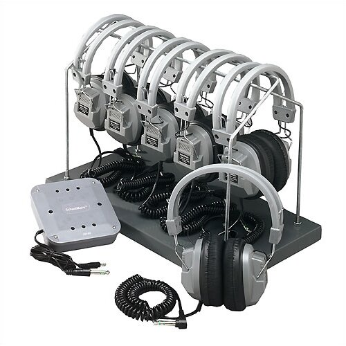 Hamilton Electronics Complete Listening Center with Headphone Rack