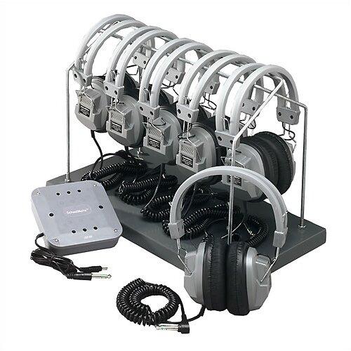 Hamilton Electronics Complete Listening Center with Headphone Rack