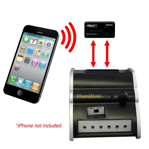 Hamilton Electronics Digital Audio Hub and Bluetooth Wireless Receiver