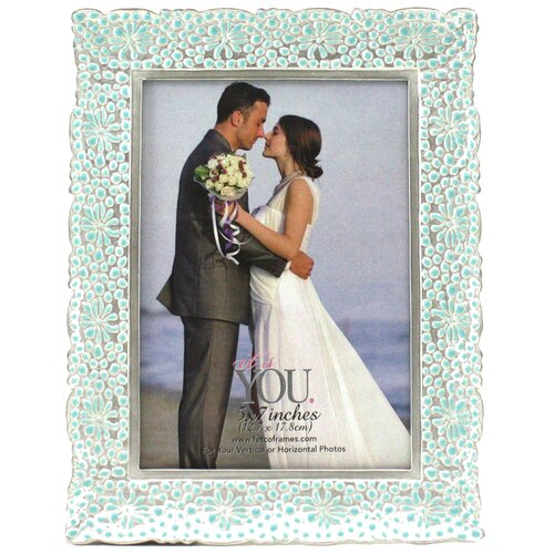 Fetco Home Decor Olga Floral Sunset Picture Frame
