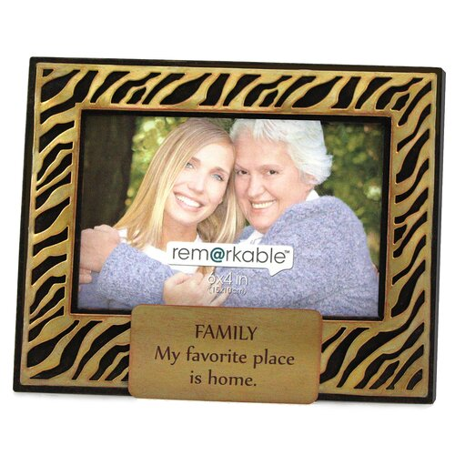 Fetco Home Decor Expressions Family My Favorite Place is Home Photo Frame
