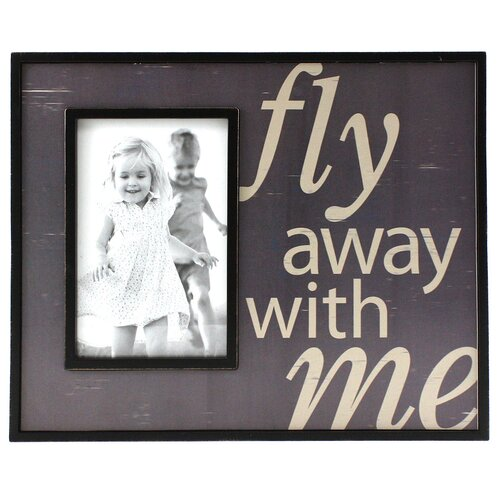 Expressions Fly Away with Me Photo Frame