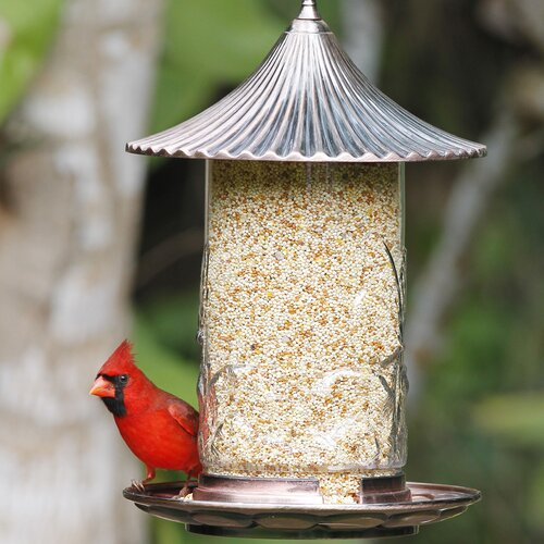 Hiatt Manufacturing Stokes High Capacity Tube Bird Feeder