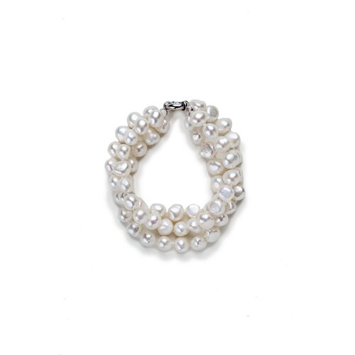 Three Strand Baroque Pearl Bracelet