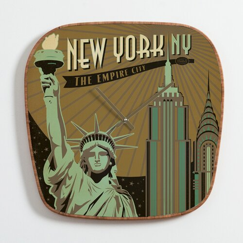 Anderson Design Group New York Wall Clock