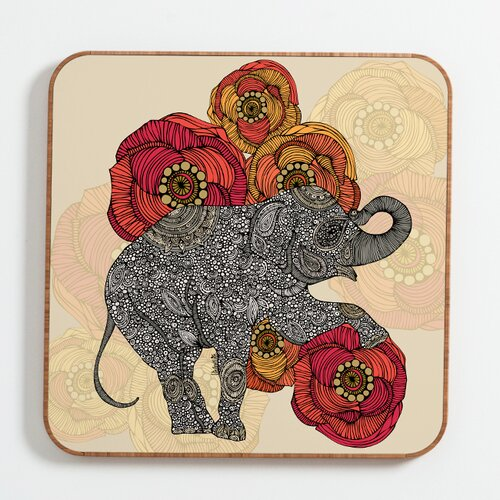 DENY Designs Rosebud by Valentina Ramos Framed Graphic Art Plaque