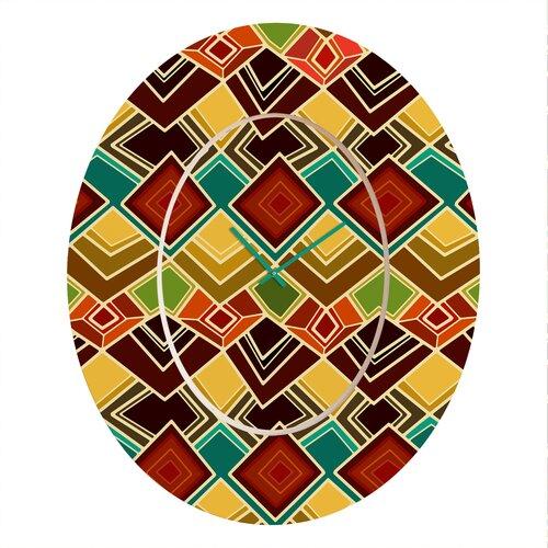 Sharon Turner Raffia Wall Clock