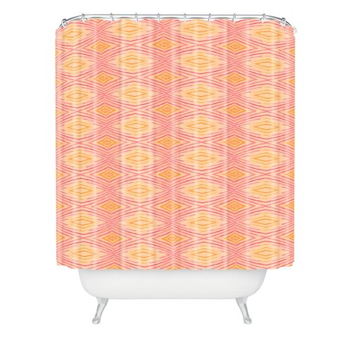 DENY Designs Cori Dantini Ikat 4 Polyester Shower Curtain