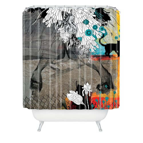 DENY Designs Iveta Abolina Polyester Stay Awhile Shower Curtain